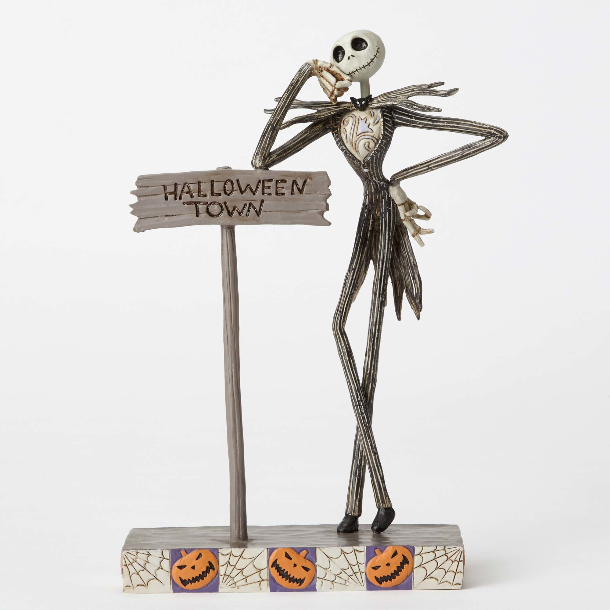 Disney Traditions Jack Skellington Halloween Town Statue